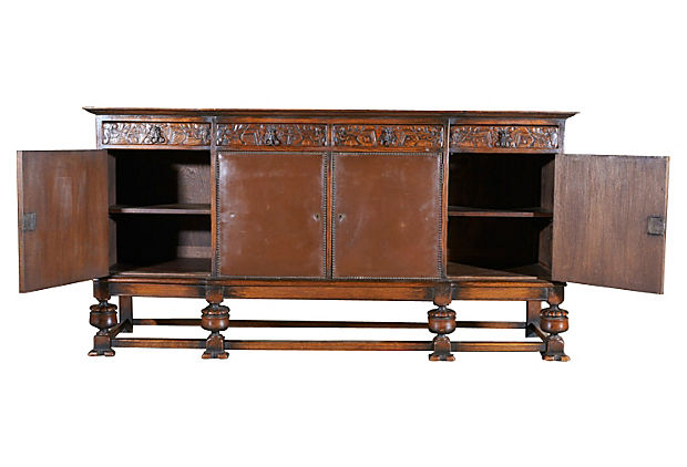 lolo french antiques antique spanish enfilade buffet. Black Bedroom Furniture Sets. Home Design Ideas