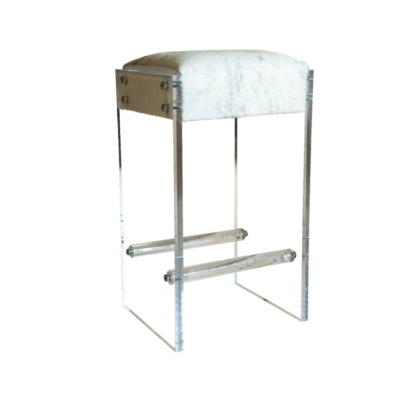 Lolo French Antiques Maurice Lucite Bar Stool Lolo
