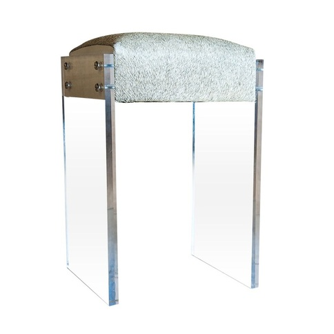 Lolo French Antiques Gigi Lucite Counter Stool Lolo