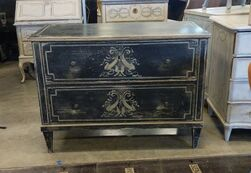 Lolo French Antiques Louis XVI period commode